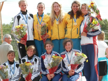 Podium of World Championships 2013