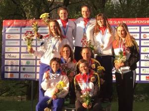 Senior European Champions in teams - 2016