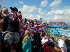 Supporting at the 2012 Olympic games